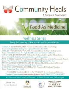 Bone Health @ COMMUNITY HEALS | Sebastopol | California | United States